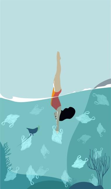 woman_diving_in_a_sea_full_of_plastic_bags